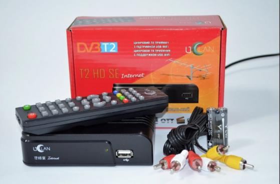 Новинка от uClan (U2C) - DVB-T2 ресивер с поддержкой IPTV - uClan