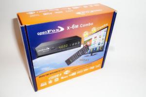 OpenFox X6 Metal Combo HD