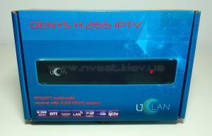 uClan Denys H.265 IPTV